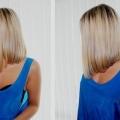 Стрижка каре з подовженням волосся