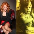 Анастасія стоцька показала дитячу фотографію