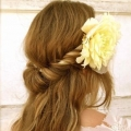 Карамельний колір волосся на середні волосся - 13 фото