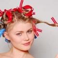 Як накрутити волосся на папільйотки (бігуді бумеранги)?