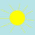 Як намалювати сонечко