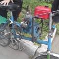 Як поставити мотор від бензопили на велосипед