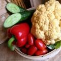 Як приготувати дієтичний салат з цвітної капусти