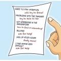 Як сказати батькам про поганий оцінці в вашому щоденнику