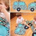 """Як зшити дитячий килимок """"машинка"""""""