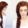 Красива коса на довге волосся - зачіска на кожен день