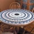 Кухонні столи з плиткою - для комфорту і прикраси квартири