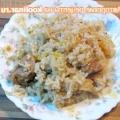Легкий грибний суп з рисом і зеленню - рецепт