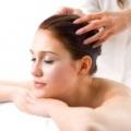 Масаж голови для росту волосся