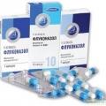 Ністатин, флуконазол і дифлюкан