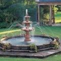 Облаштування дачного фонтану