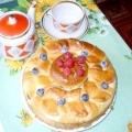 Пиріг з маком і родзинками - рецепт