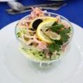 Салат з кальмарів з огірком і яйцем: рецепти найсмачніших закусок