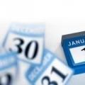 Скільки вихідних в січні 2015 року призначено урядом рф