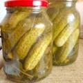 Солоні огірки - рецепт