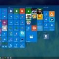 Створення своїх плиток меню пуск в windows 10