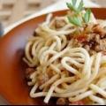 Спагеті з соусом болоньєзе - рецепт
