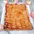 Тонкий яблучний тарт - рецепт