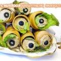 Трубочки закусочні пікантні - рецепт