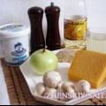 Жульєн з куркою і грибами - по французьки (рецепт з фото)