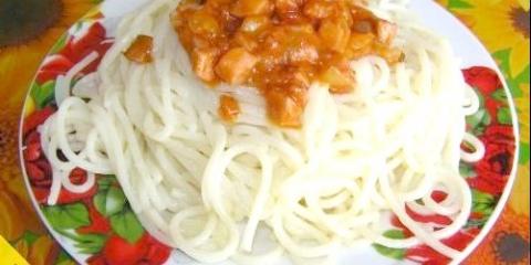 Як варити спагетті, щоб не злиплися (покроковий рецепт з фото)
