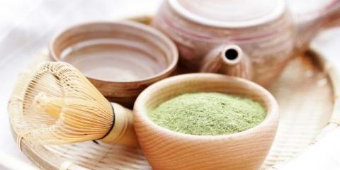 Зелений чай знижує тиск